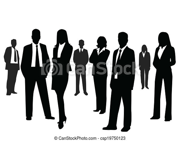 Business people  - csp19750123