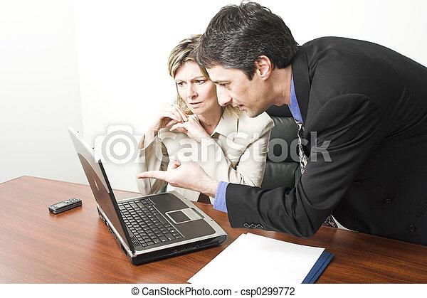 business people in meeting - csp0299772