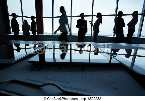 Business people in office - csp16533382