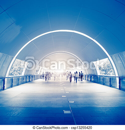 Business People in underpass  - csp13255420