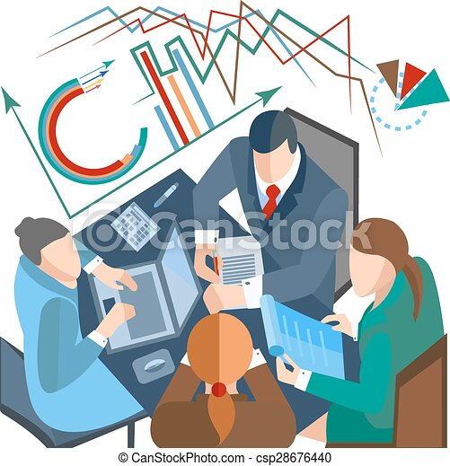 business people infographics laptop documents man woman eps rh canstockphoto com