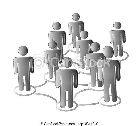 Business people logo - csp18341940