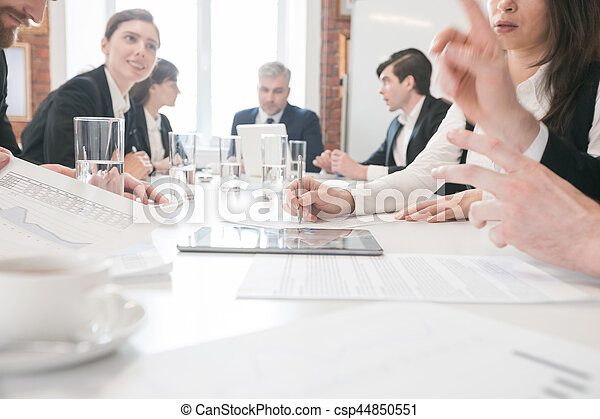 Business people meeting at office - csp44850551