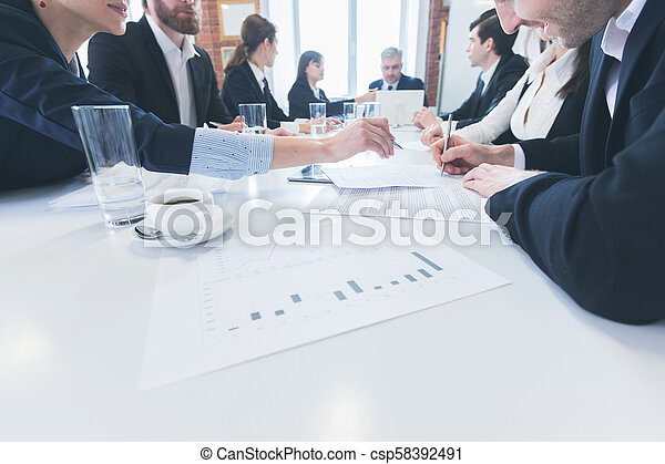 Business people meeting at office - csp58392491