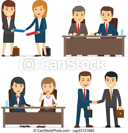 Business People Meeting - csp33121660