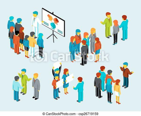 Business people meeting - csp26719159
