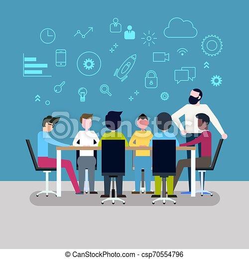 Business People Meeting - csp70554796