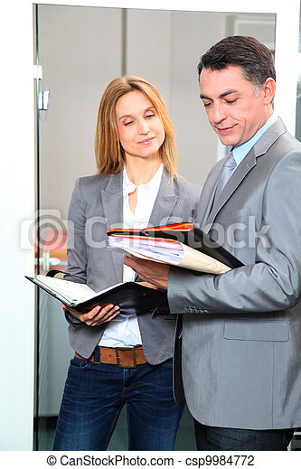business people meeting in the office - csp9984772