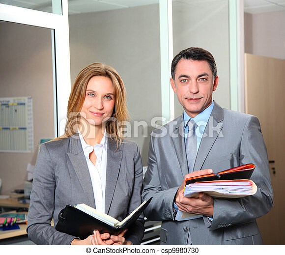 business people meeting in the office - csp9980730