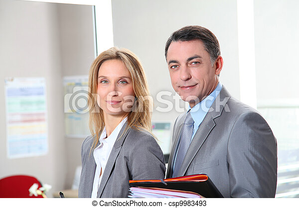 business people meeting in the office - csp9983493