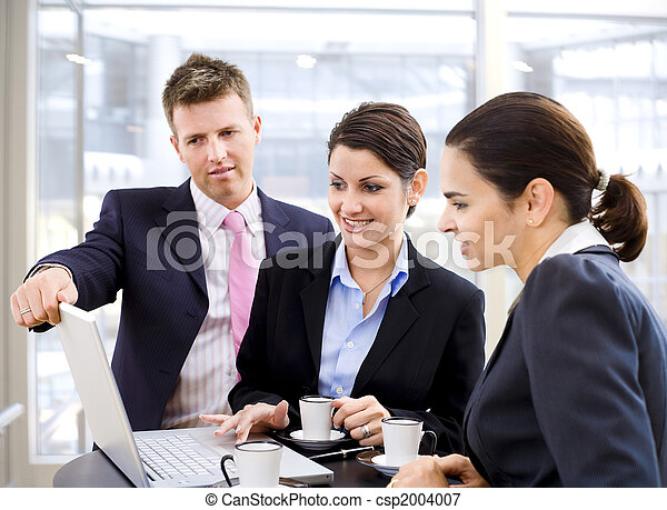 Business people - csp2004007