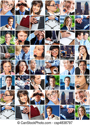 Business people - csp4838797