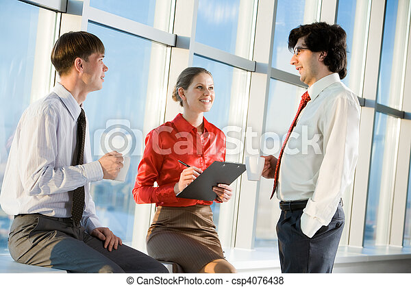 Business people - csp4076438