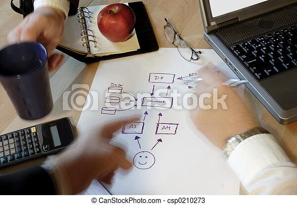 Business people plan - csp0210273