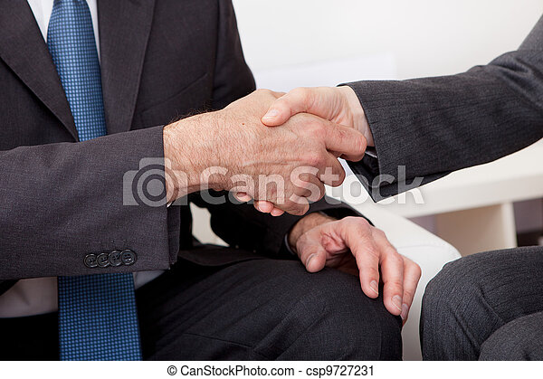 Business people shaking hands - csp9727231