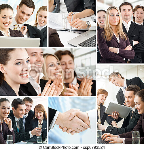 business people - csp6793524