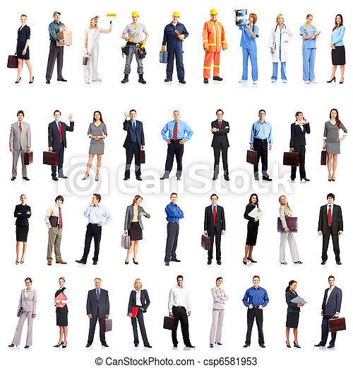 Business people  - csp6581953