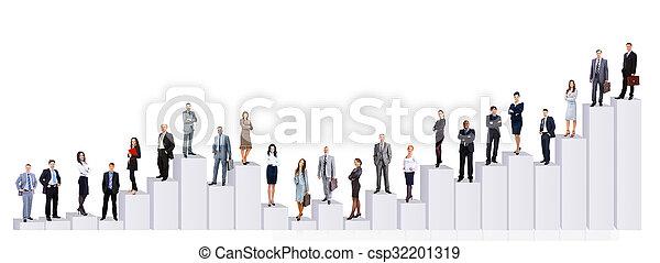 Business people team - csp32201319