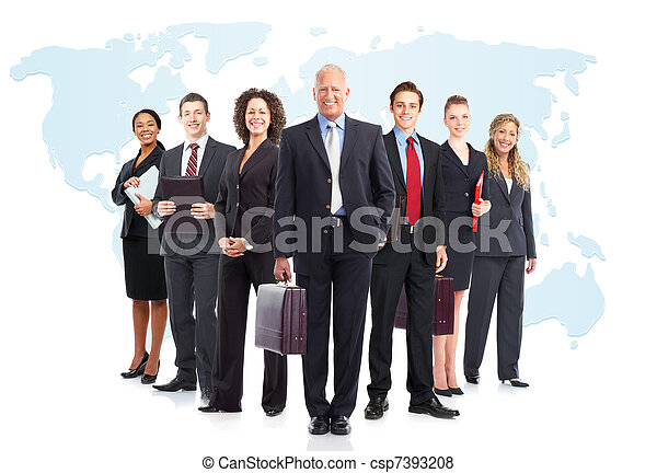 Business people team - csp7393208