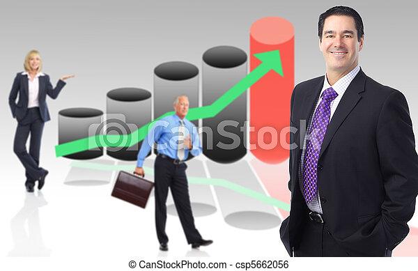 Business people team - csp5662056