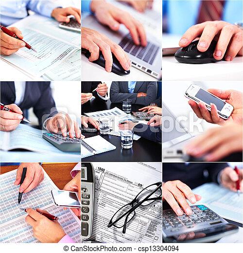 Business people team - csp13304094
