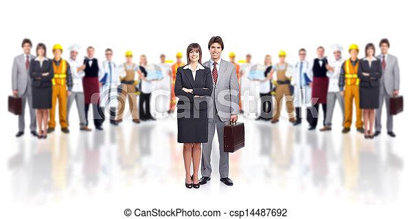 Business people team. - csp14487692