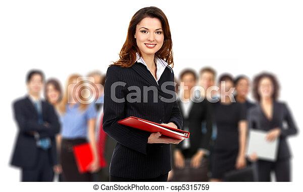 Business people team - csp5315759