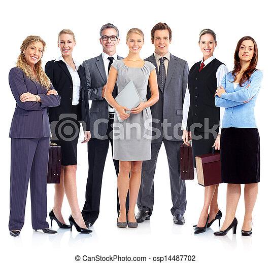 Business people team. - csp14487702