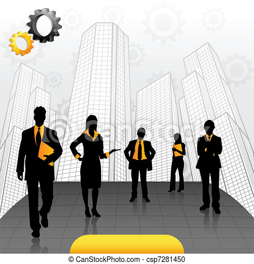 Business People - csp7281450