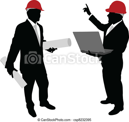 business people with hardhat - csp8232395