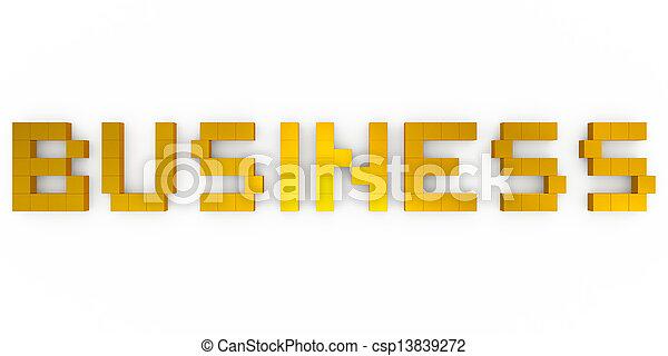 business - csp13839272