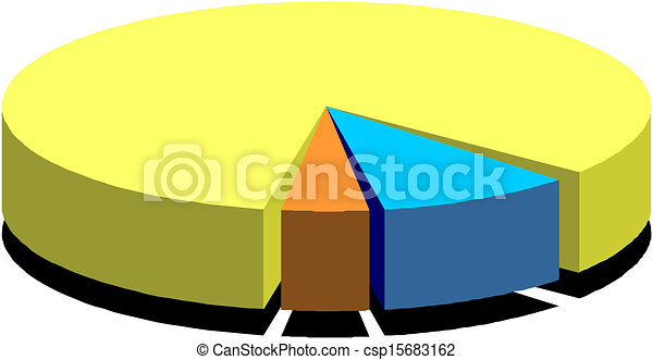 business pie chart clip art vector search drawings and graphics rh canstockphoto com