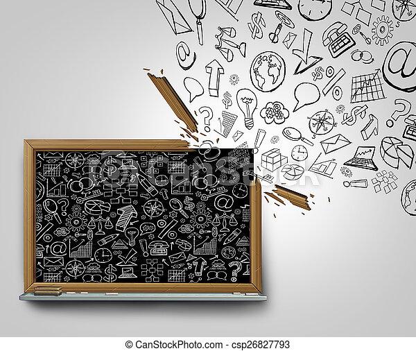 Business Plan Communication - csp26827793