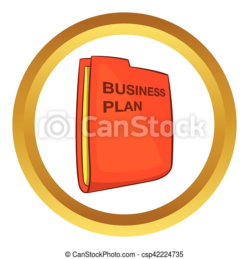 Business plan vector icon - csp42224735