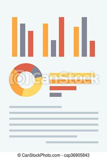 Business plan vector illustration. - csp36905843