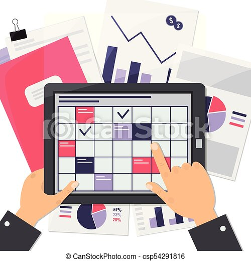 Business planning concept. - csp54291816