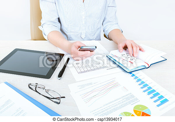 Business planning - csp13934017