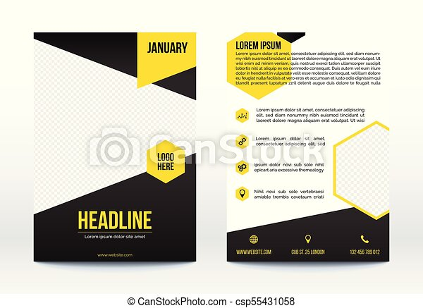 Business poster template flyer brochure design layout business poster template flyer brochure design layout csp55431058 wajeb Images