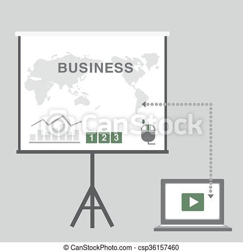 business presentation - csp36157460