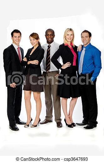 Business Professionals - csp3647693