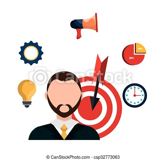 business project management plan graphic design vector clip art rh canstockphoto com  project management clipart free