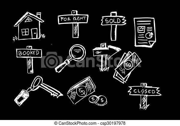 Business Property Symbol - csp30197978