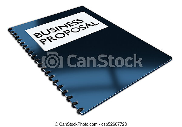 Business Proposal concept - csp52607728