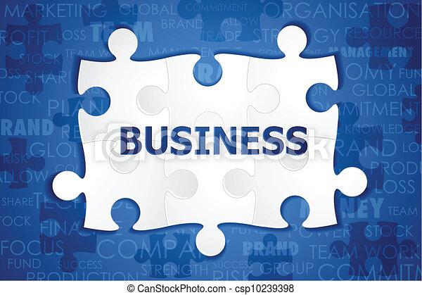 Business Puzzle - csp10239398