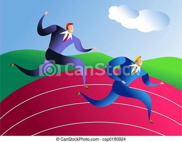 business race - csp0180924