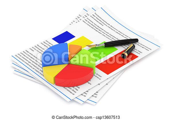 business report  - csp13607513