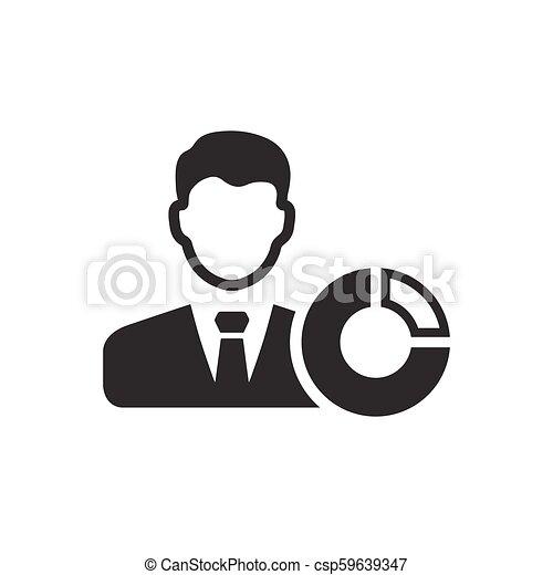 Business Report Icon - csp59639347