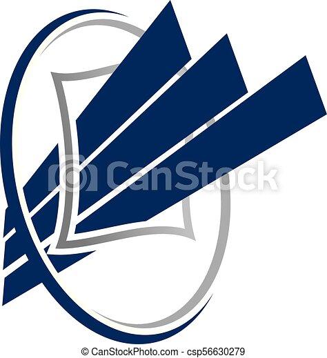 Business Report vector - csp56630279