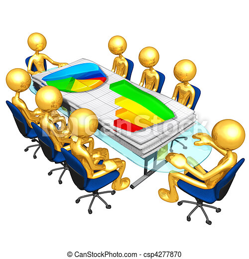Business Reports Meeting - csp4277870
