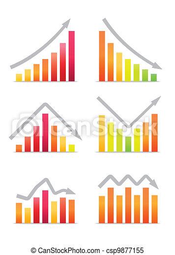 Business revenue charts - csp9877155